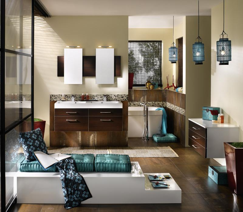 Super stylish bathrooms from delpha - Idee deco salle de bain zen ...