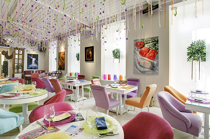 22 inspirational restaurant interior designs for Restaurant interior designs ideas