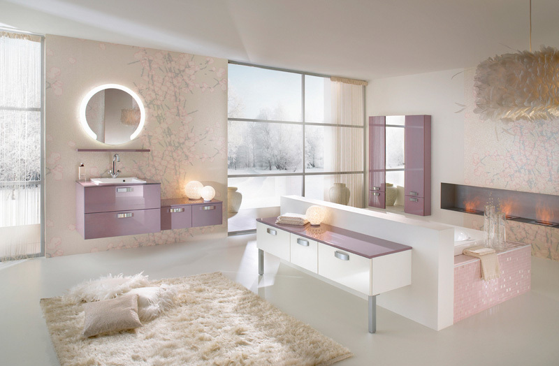 Super stylish bathrooms from delpha for Beautiful houses interior bathrooms