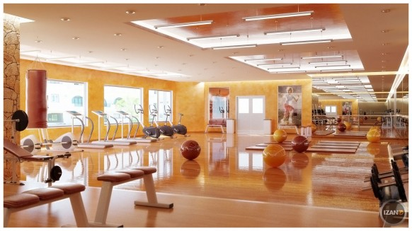 izano beautiful gym