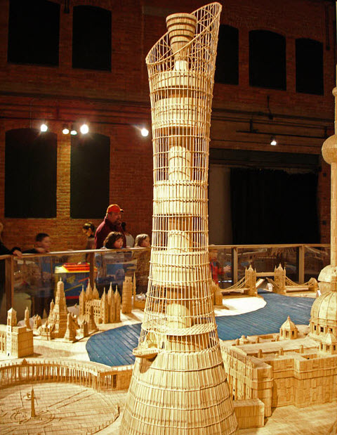 toothpick building