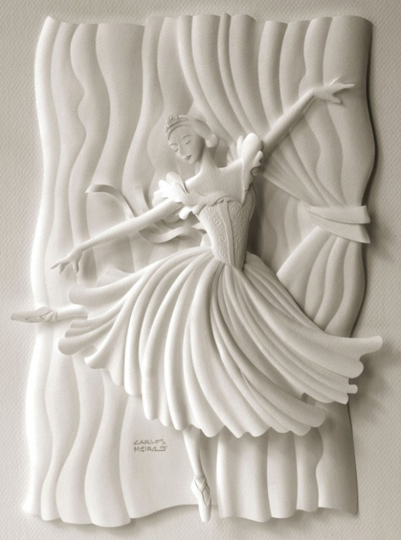 white fairy scultpure