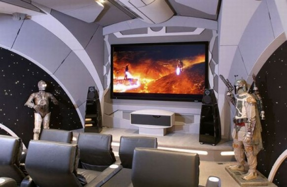 brilliant star wars home theatre
