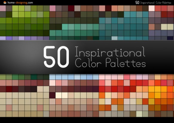 50 inspirational color palettes
