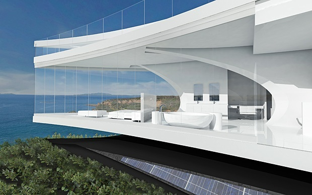 The dream house you cannot own for Futuristic home designs