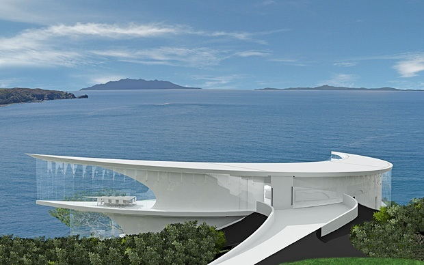 The dream house you cannot own for Ocean view house plans