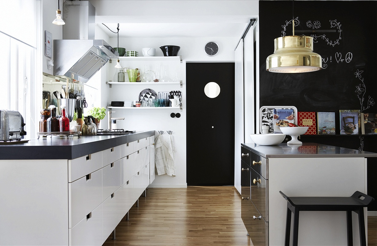 Beautiful scandinavian style interiors for Modern kitchen company