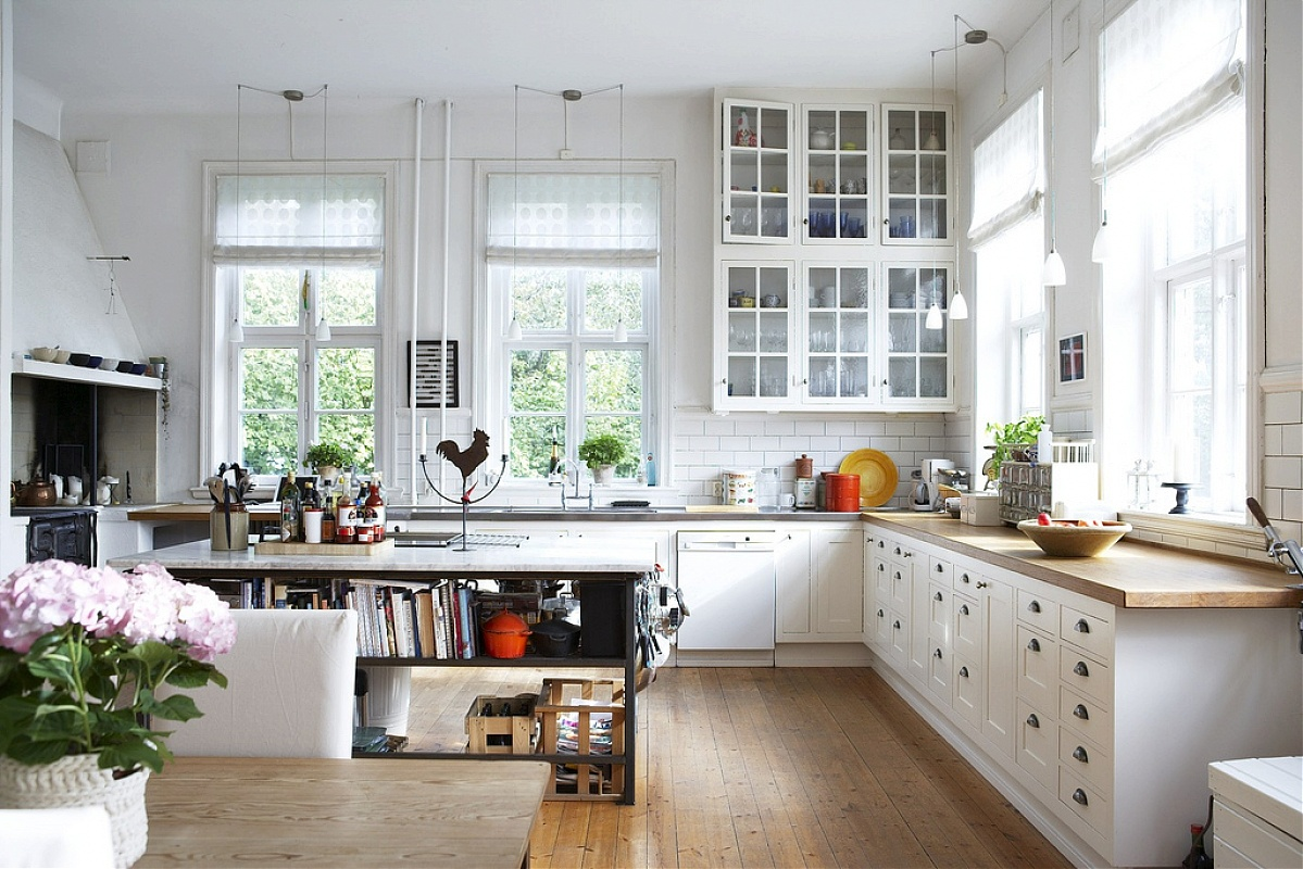 scandinavian style kitchen Beautiful Scandinavian Style Interiors