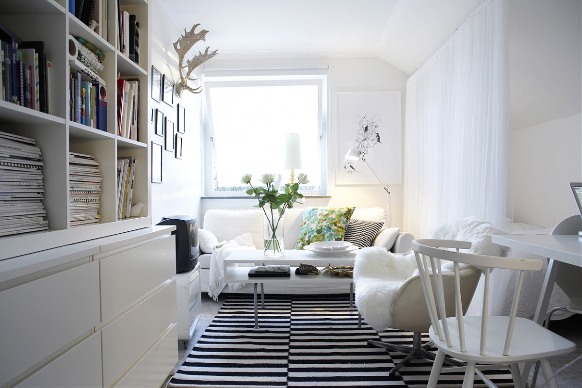 Beautiful scandinavian style interiors - Decoration petit espace ...
