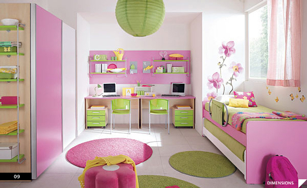 21 beautiful children 39 s rooms for Childrens bedroom ideas girls