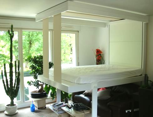 Space Saving Furniture Part - Table converts to bed