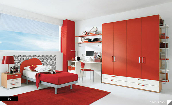 21 beautiful children 39 s rooms for Bedroom ideas red carpet