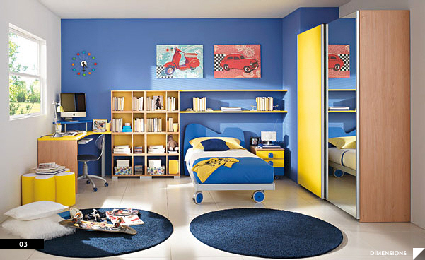 Superbe Modern Kids Bedroom · Furniture Maker: Columbini