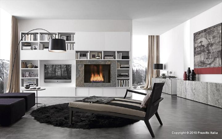 Contemporary living room design ideas Modern white living room decor