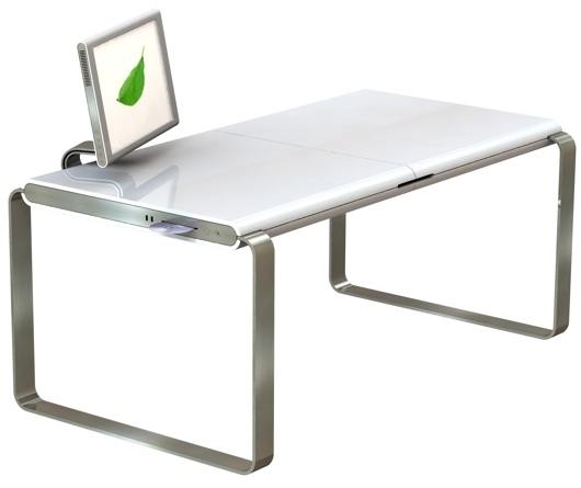 Mac PC hybrid desk