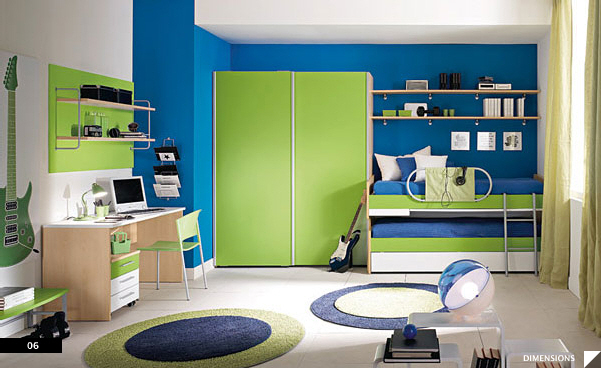 21 beautiful children s rooms colorful kids - Colorful Boys Room