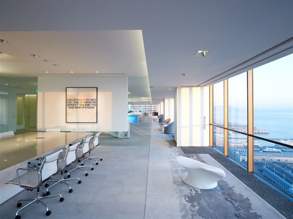 Can the office of a finance firm ever be cooler than this for Interesting office interiors