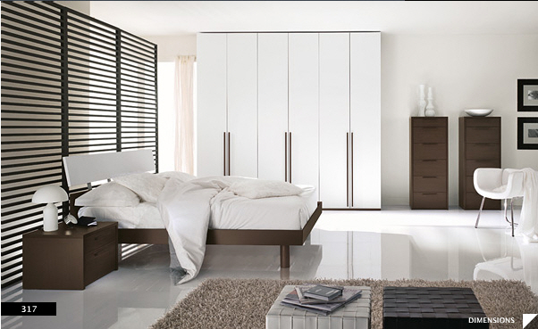 17 strikingly beautiful modern style bedrooms for Glamorous bedroom pictures