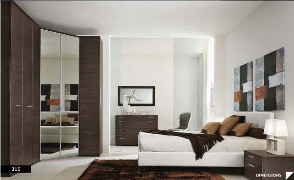 17 strikingly beautiful modern style bedrooms for Decoracion de cuartos matrimoniales