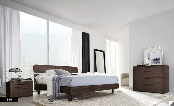 17 strikingly beautiful modern style bedrooms for Clean bedroom designs