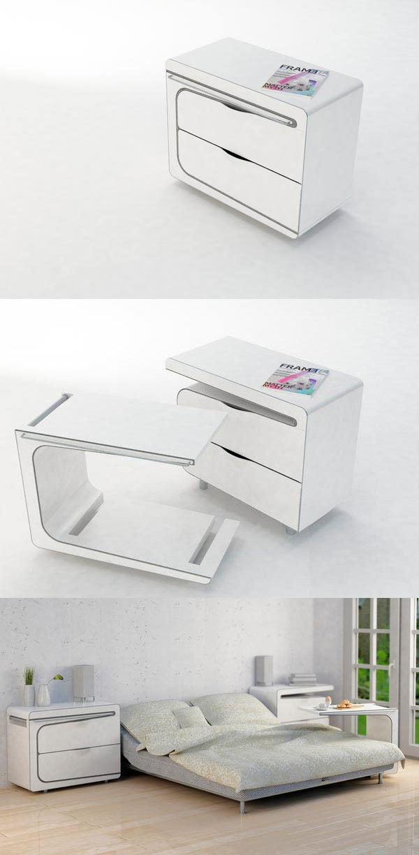 25 stunning side table designs for Creative design table