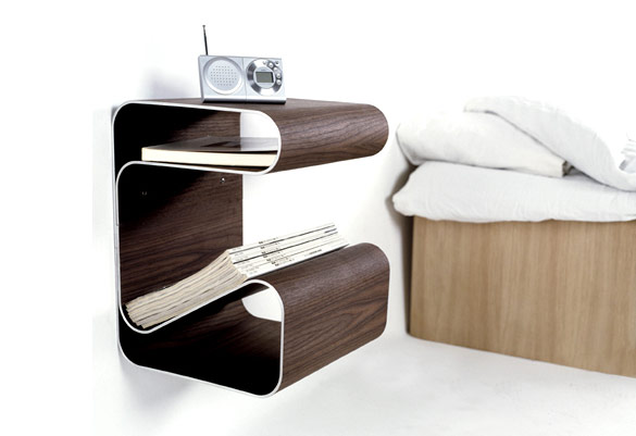25 stunning side table designs. Black Bedroom Furniture Sets. Home Design Ideas