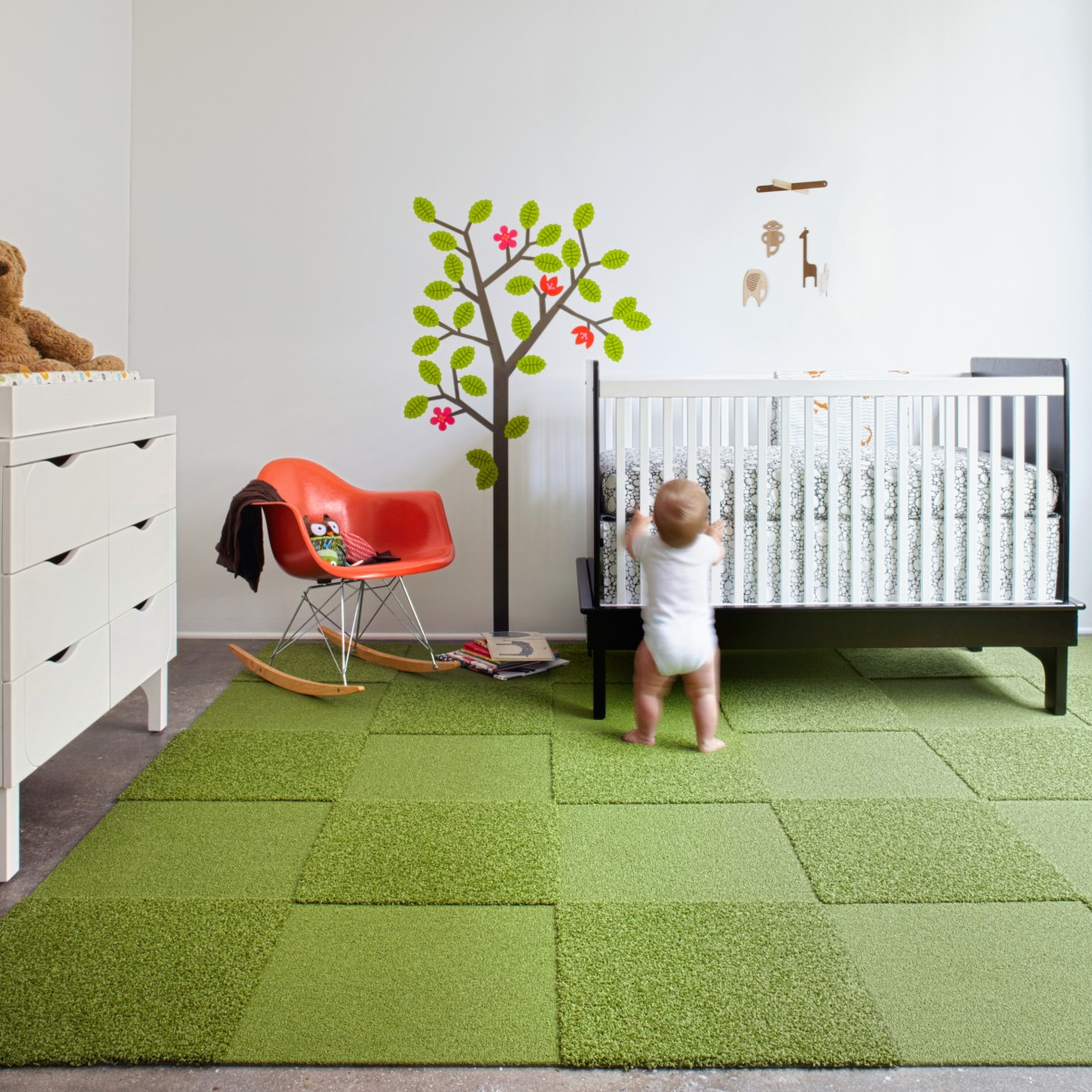 Soccer decor ultimate inspiration for football soccer fan for Flooring for child s bedroom