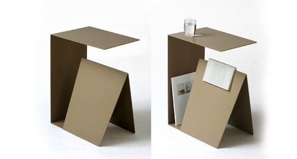 25 stunning side table designs for Minimalist household items