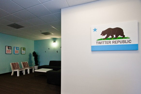 twitter office entrance