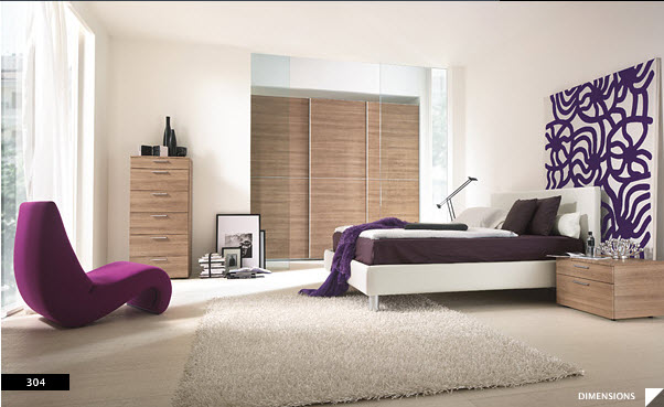 Modern Bedroom Purple 12 modern bedroom design ideas for a perfect bedroom. cosy bedroom
