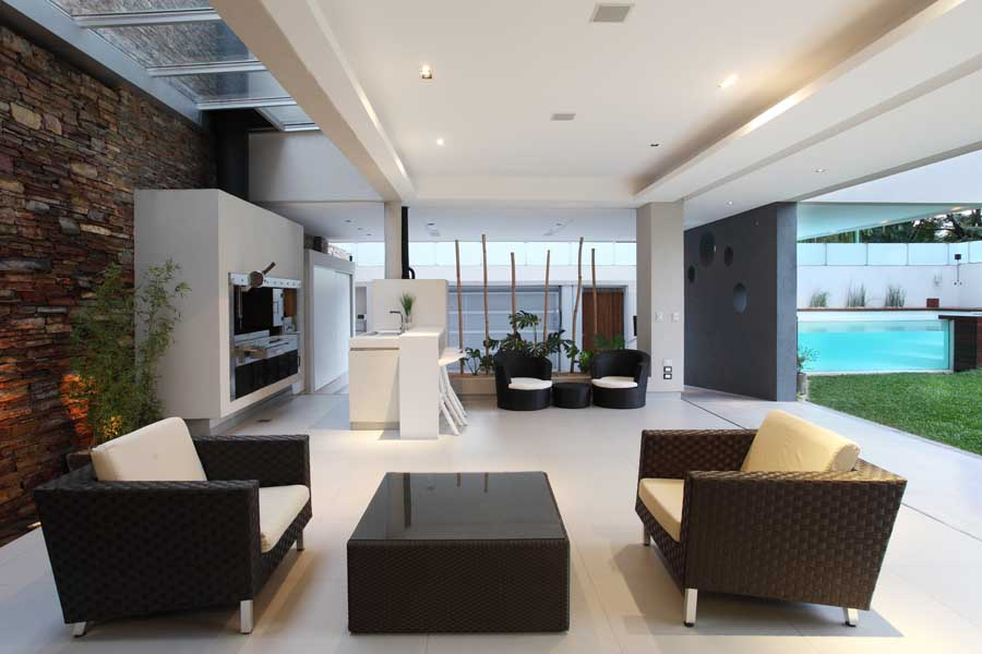 attractive interiors of house photo