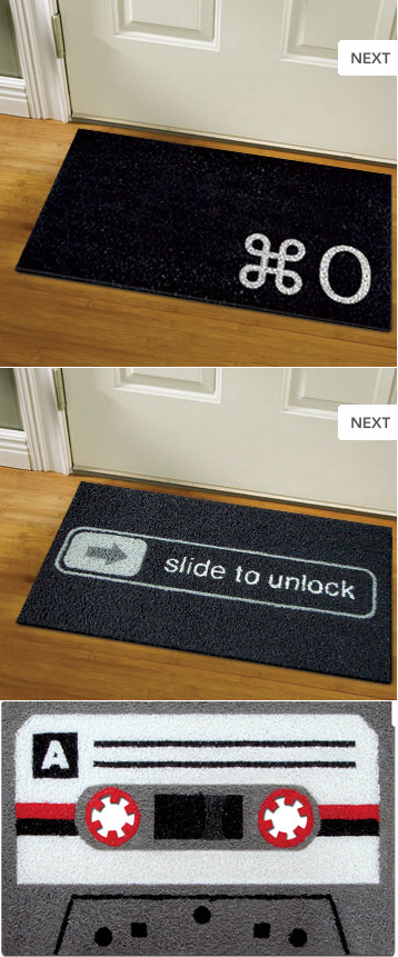Geeky decor accessories for home part 2 - Geeky doormats ...
