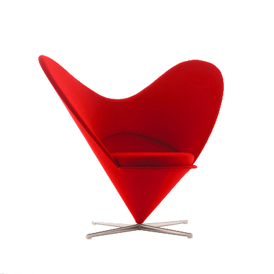 Heart Chair Usage: This Chair Would Also Look Great In An Open Modern Loft  Space With Other Funky Casual Furniture.