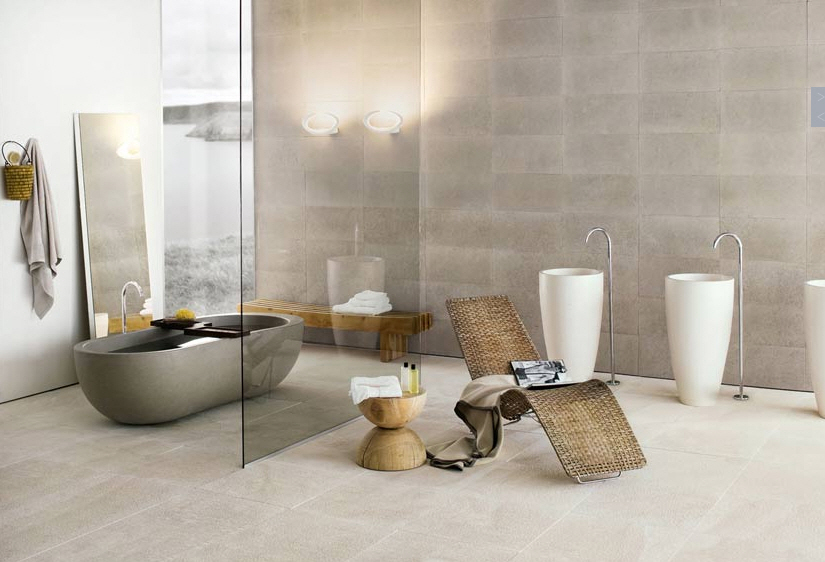 the - Contemporary Modern Bathrooms