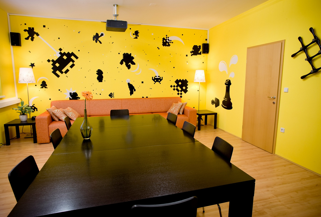 Colorful Offices of Creative Studio 3FS