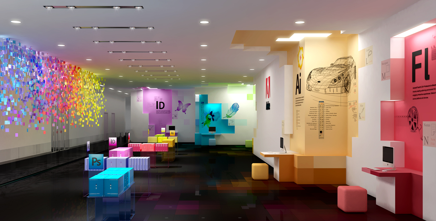 cool office interior design. Adobe Office Cool Interior Design C