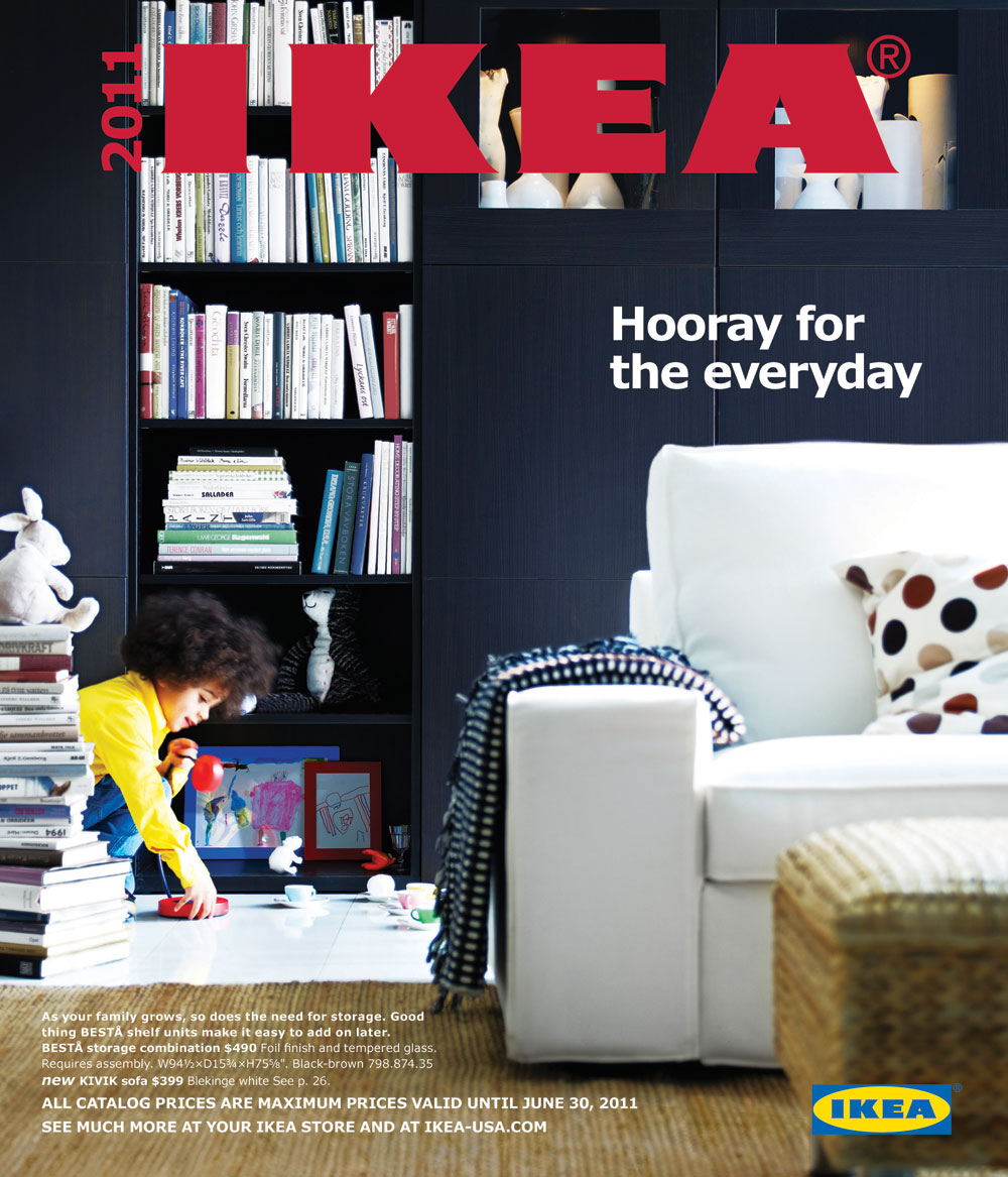 Ikea 2011 catalog Design house catalog
