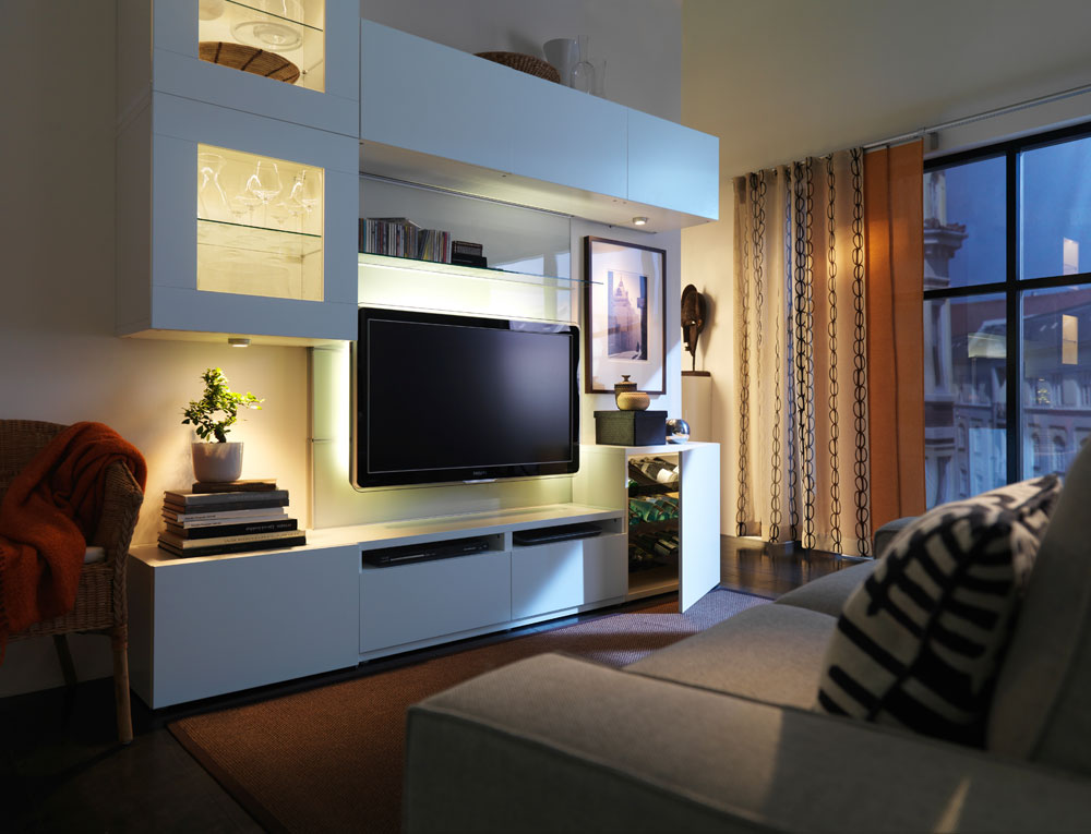 Wohnwand ikea hemnes  Best 25+ Ikea entertainment center ideas on Pinterest | Ikea tv ...