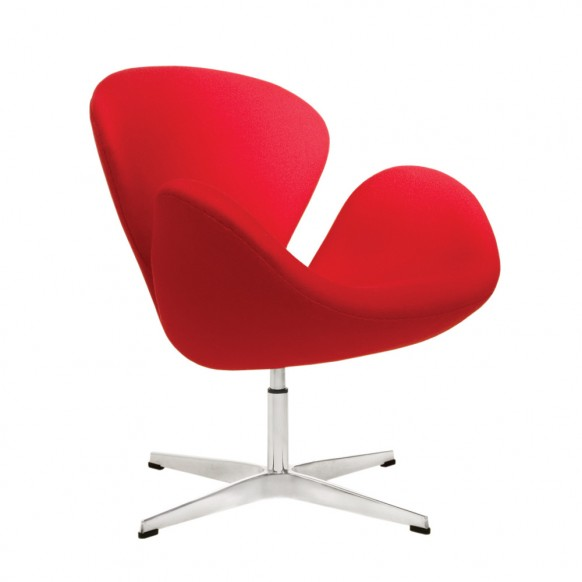 The Swan Chair was most influential of its time for its seamless curvature  and has defined the Retro style which remains popular today.