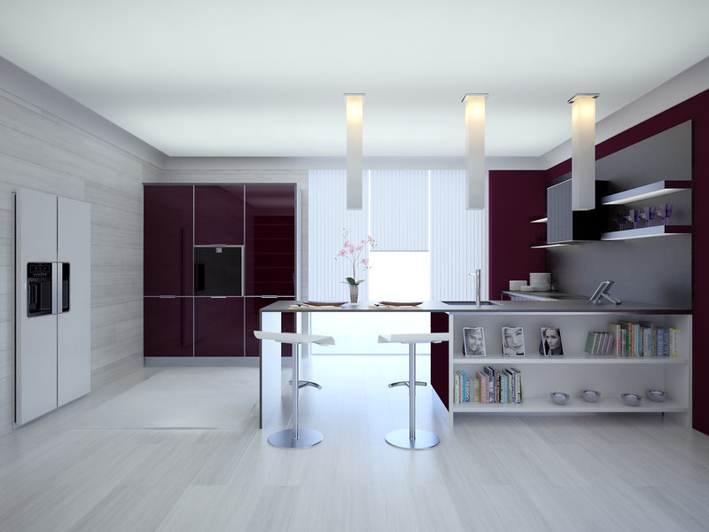 Modern style kitchen designs for Contemporary kitchen style