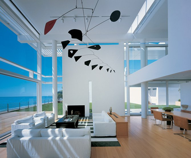 a - Modern Beach House Interior