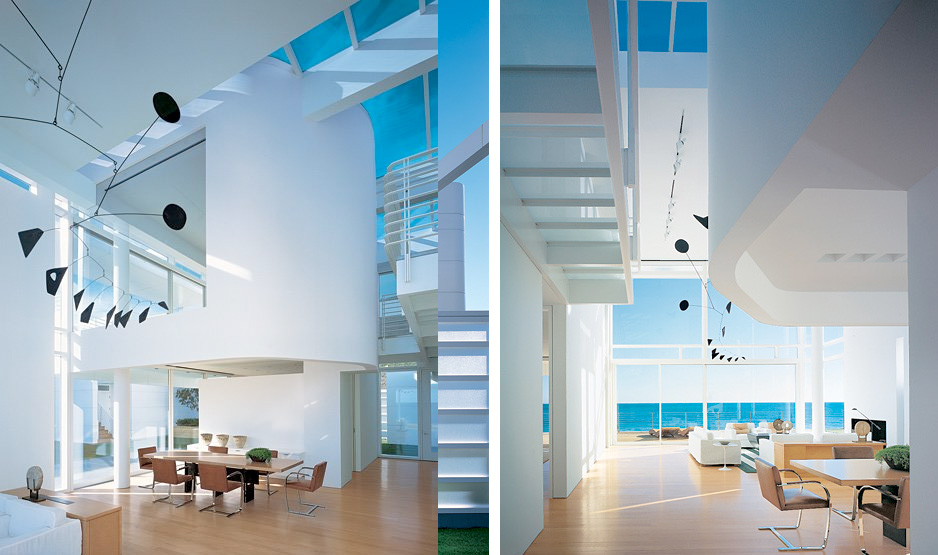 advertisement - Modern Beach House Interior