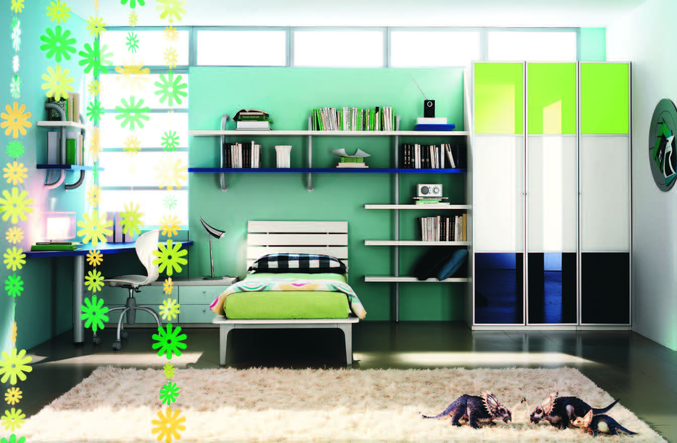 Fabulous modern themed rooms for boys and girls for Beautiful room designs images
