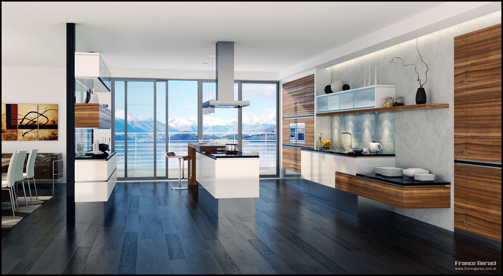 Remarkable Modern Home Kitchen 1600 x 880 · 1013 kB · jpeg