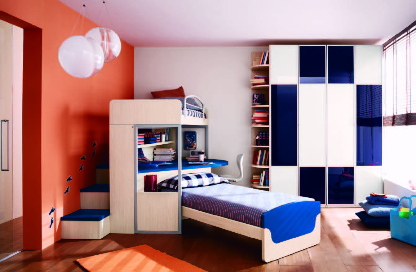Fabulous modern themed rooms for boys and girls for Boy s bedroom ideas