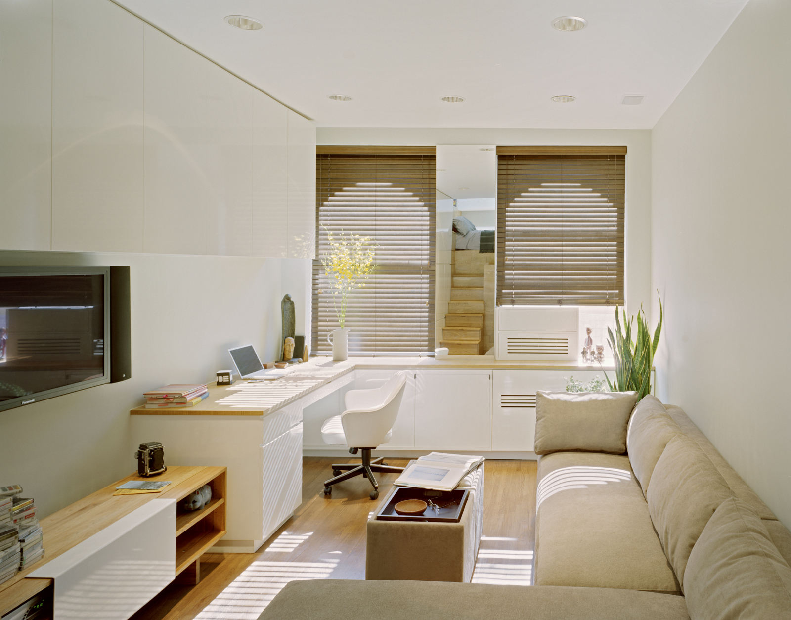 Terrific Space Saving Tiny Apartment New York Largest Home Design Picture Inspirations Pitcheantrous