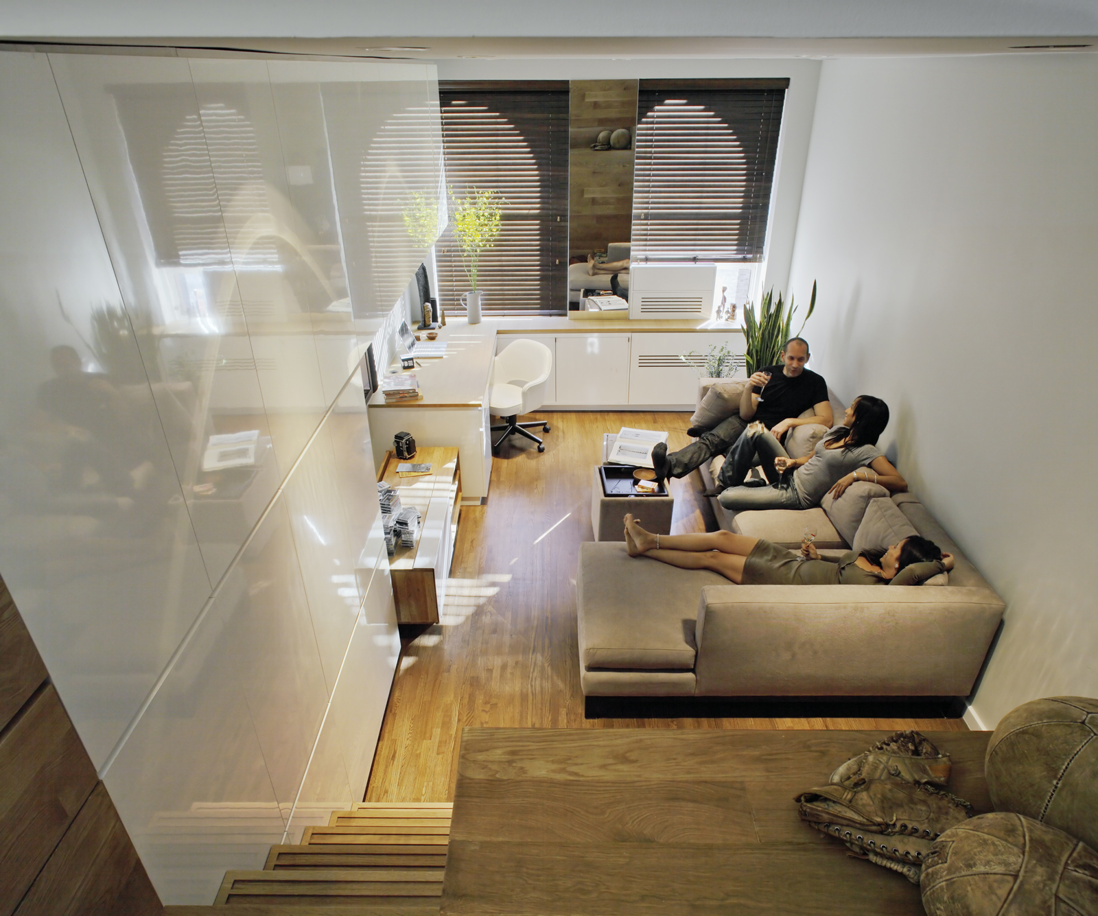 Small Apartments Design Ideas space saving tiny apartment, new york
