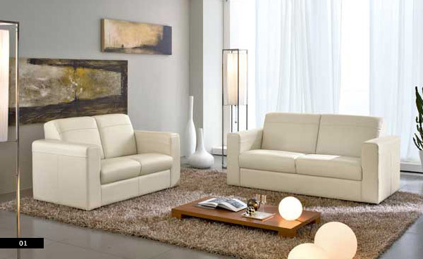 Contemporary sofa sets from columbini for Sofa set designs for small living room