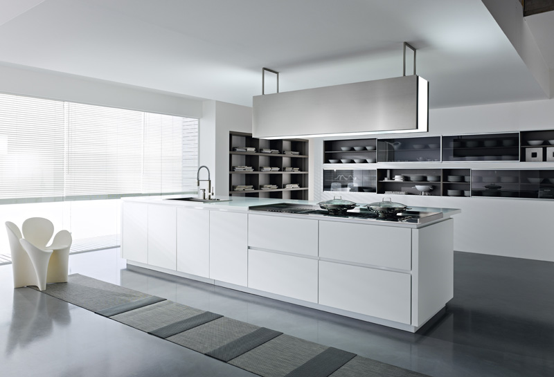White kitchens for Beautiful white kitchen designs