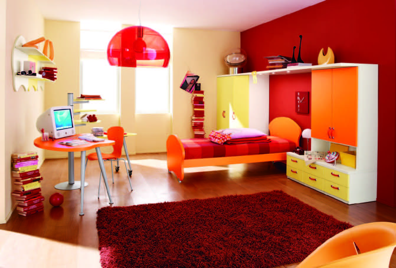 Creative 13 Modern Houses Interior Bedroom For Kids Girls Pictures